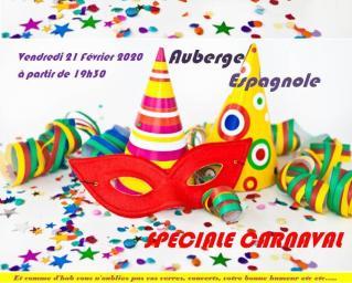 Carnaval auberge espagnole